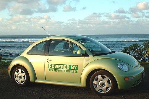 biofuel VW beetle