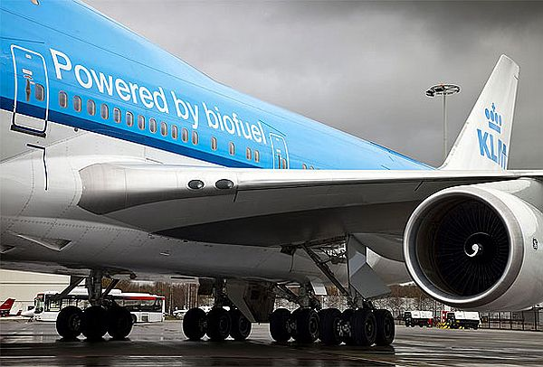 biofuel airliner KLM