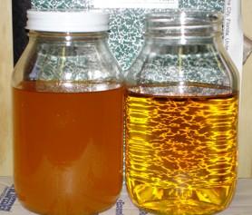 washing biofuel