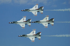 Air Force Thunderbirds to perform using biofuel