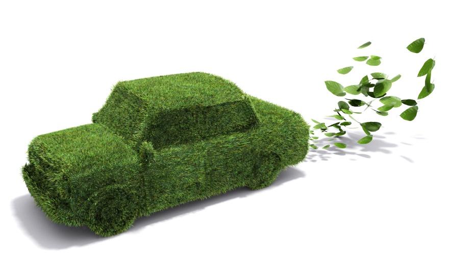 green cars